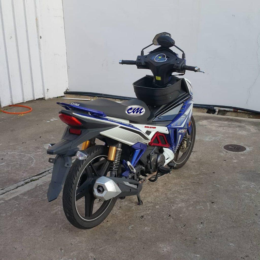 SYM Sport Rider 125 i 2016