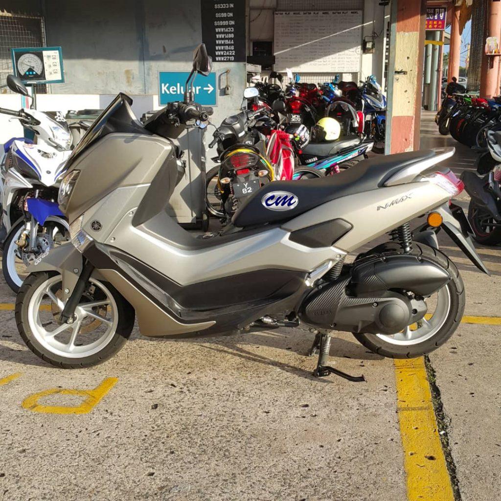 Yamaha N Max 155 ( 6300 KM )2017