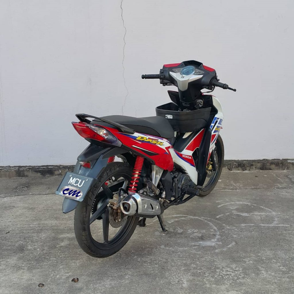 Honda Wave Dash 110 ( 2 Dis Brake ) 2016