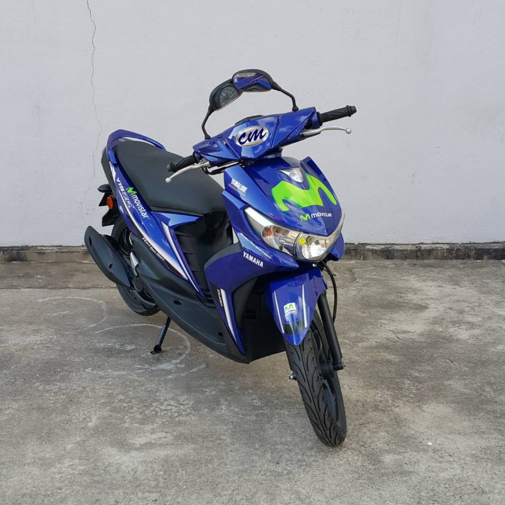 Yamaha Ego-Si 115 ( Fuel Injection ) 2015