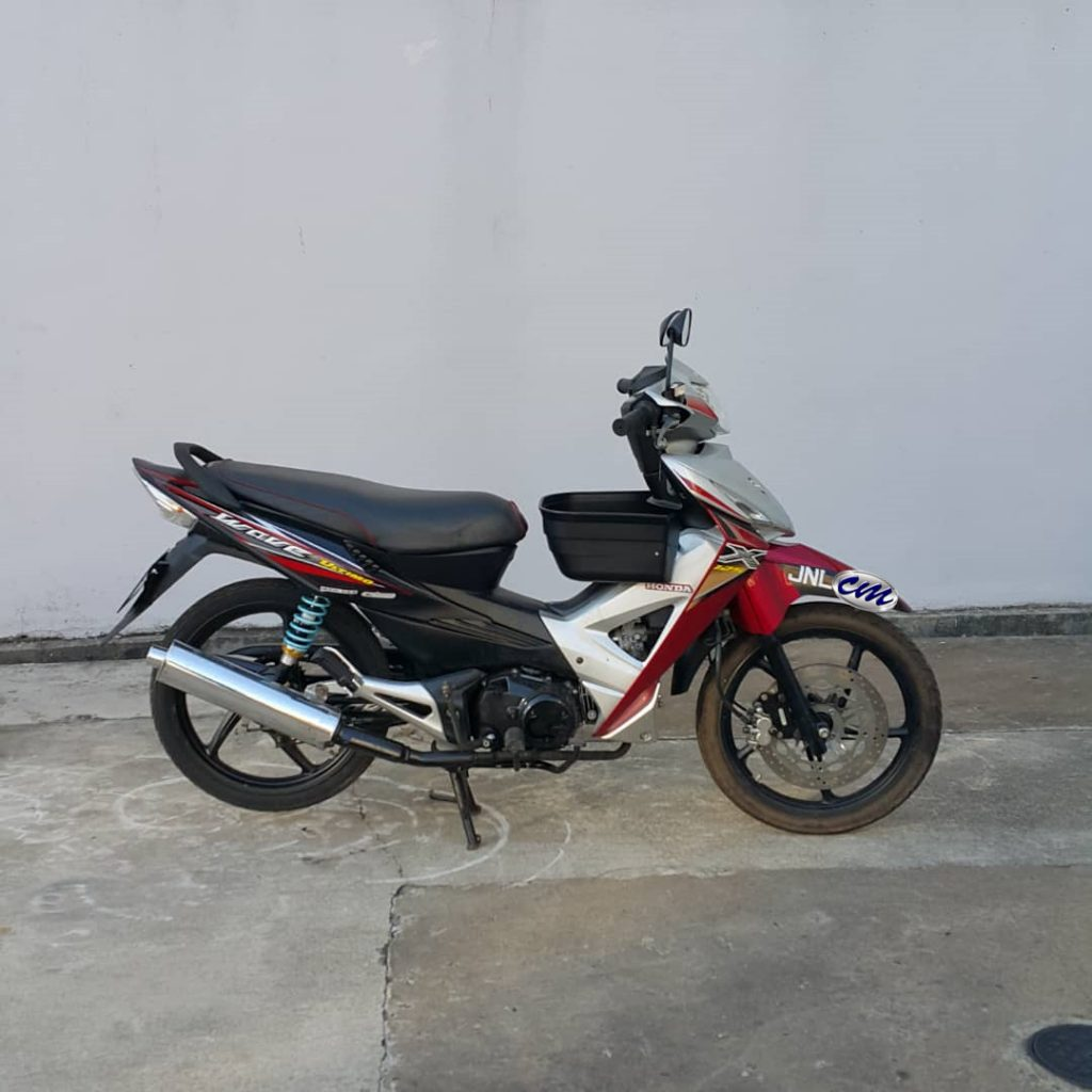 Honda Wave 125X Ultimo 2012