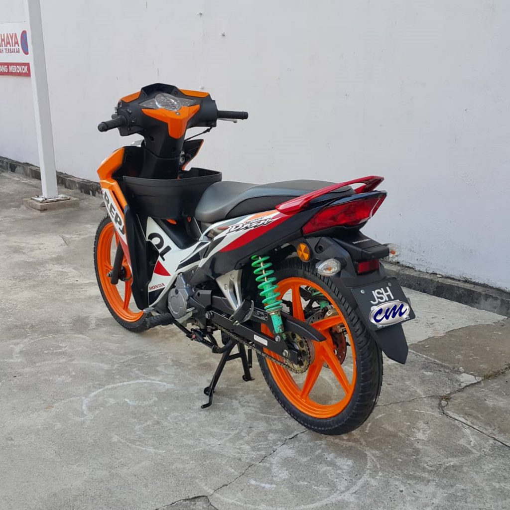 Honda Wave Dash 110 Fi ( Fuel injection ) 2017