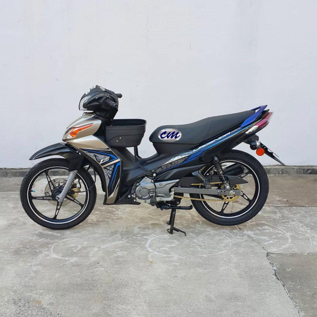 Yamaha Lagenda 115 Fi ( Fuel Injection ) 2017