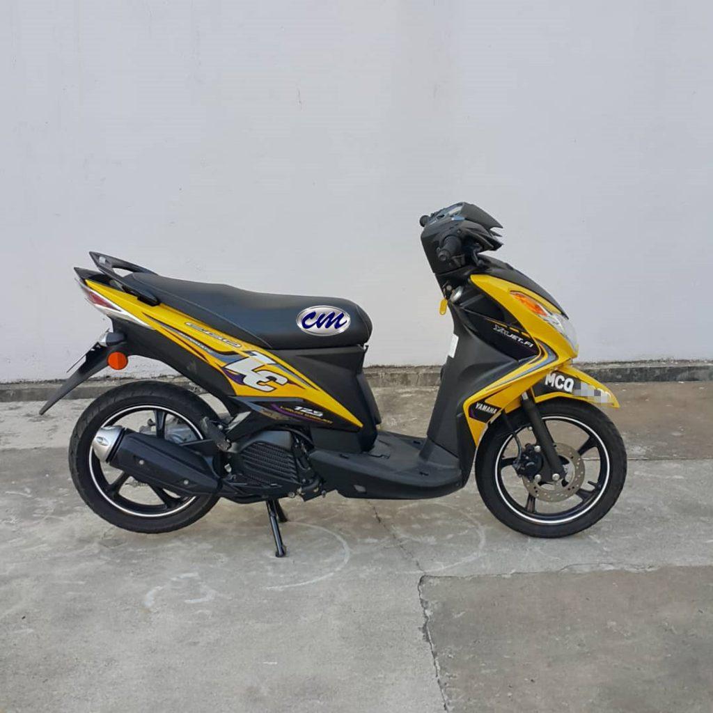 Yamaha Ego-LC 125 Fi ( 2700KM ) 2015