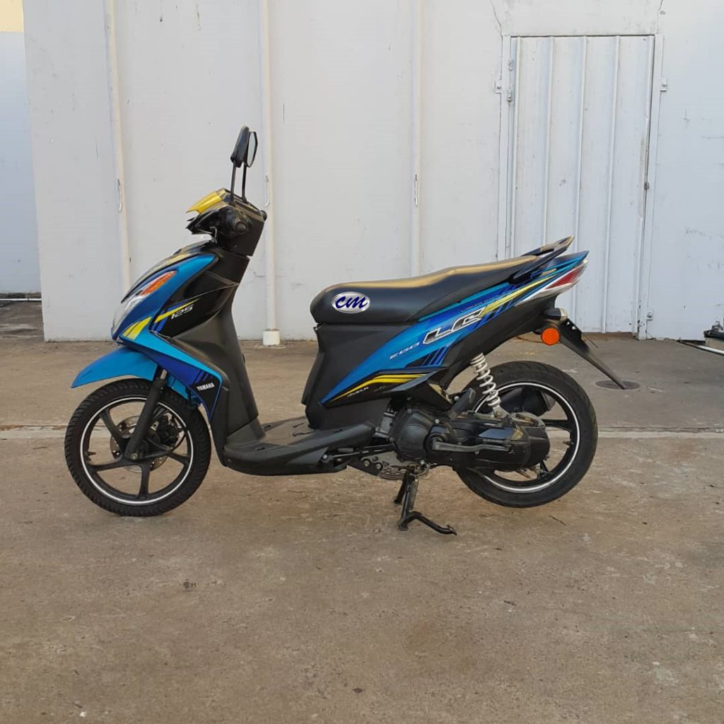 Yamaha Ego-LC 125 Fi ( Fuel Injection ) 2014