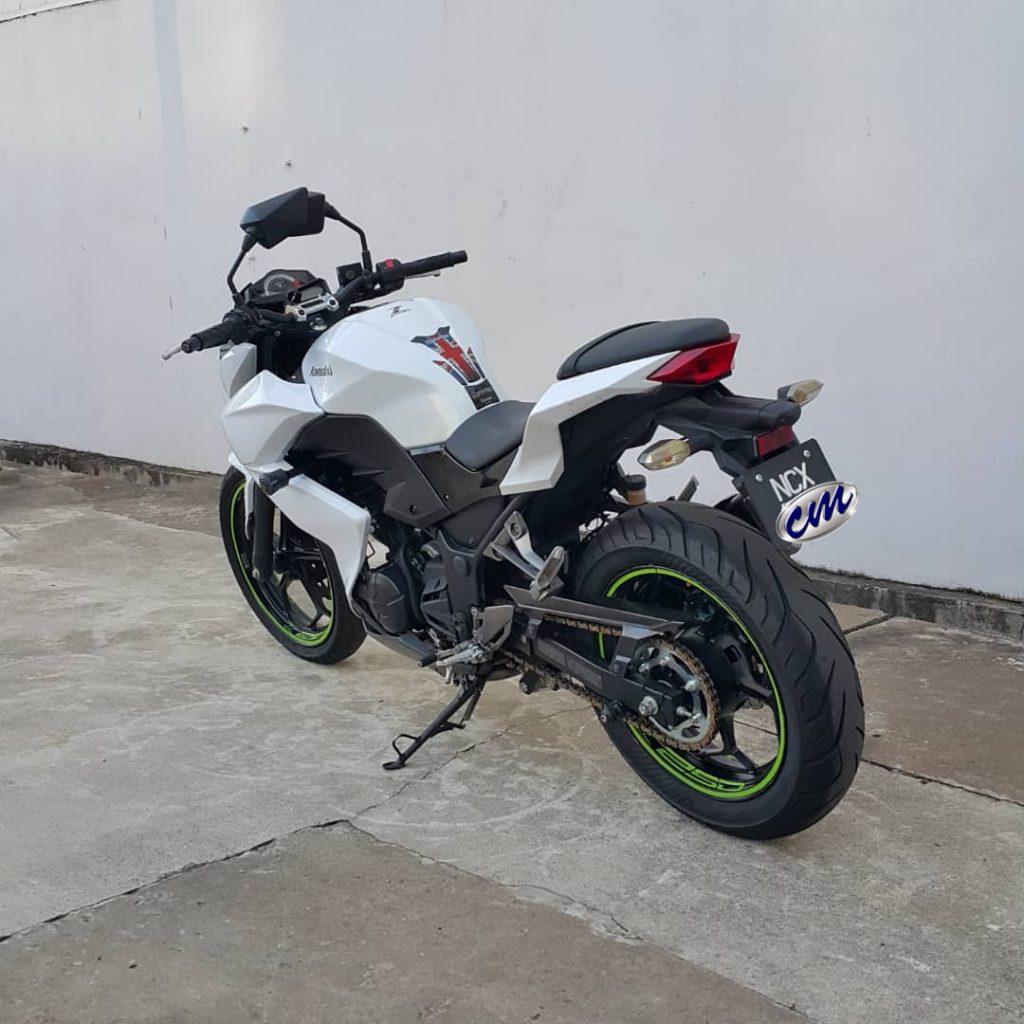Kawasaki Z250 2014