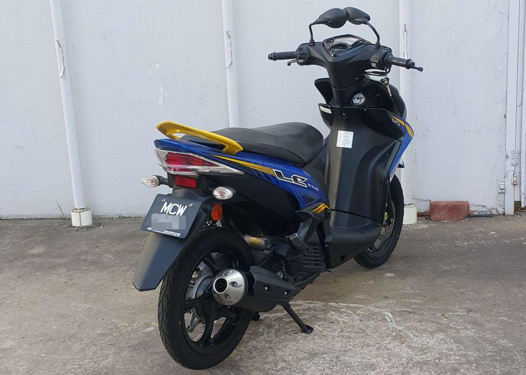 Yamaha Ego LC 125 ( Fuel Injection ) – 2017 – OTR