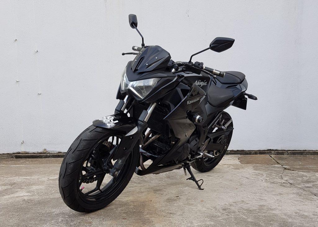 Kawasaki z250 – 2014 – OTR
