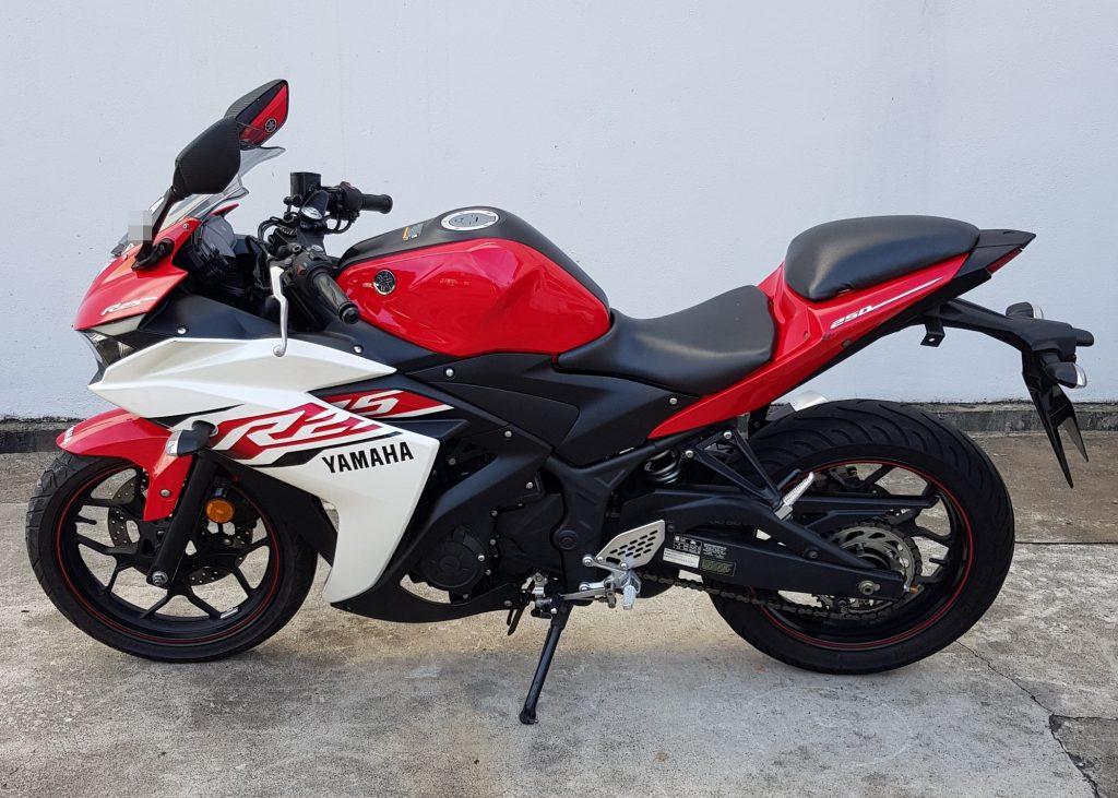 Yamaha YZF R25 – 2018 – OTR