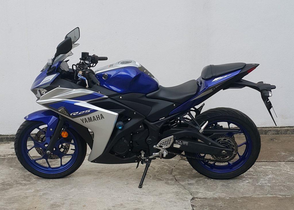 Yamaha YZF R25 – 2015 – OTR