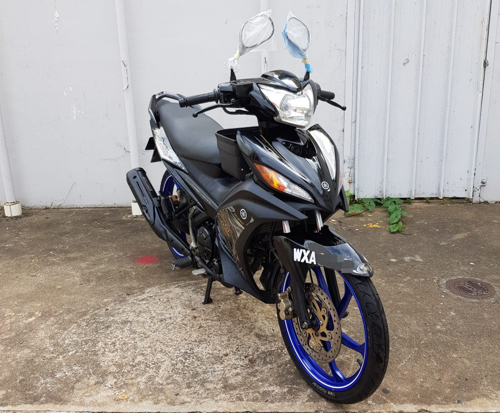 Yamaha LC 135 es ( 5 Speed Clutch ) – 2012 – OTR