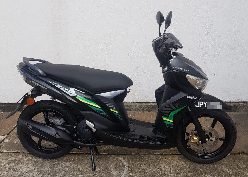 Yamaha Ego S 115 Fi ( Fuel Injection ) – 2014 – OTR
