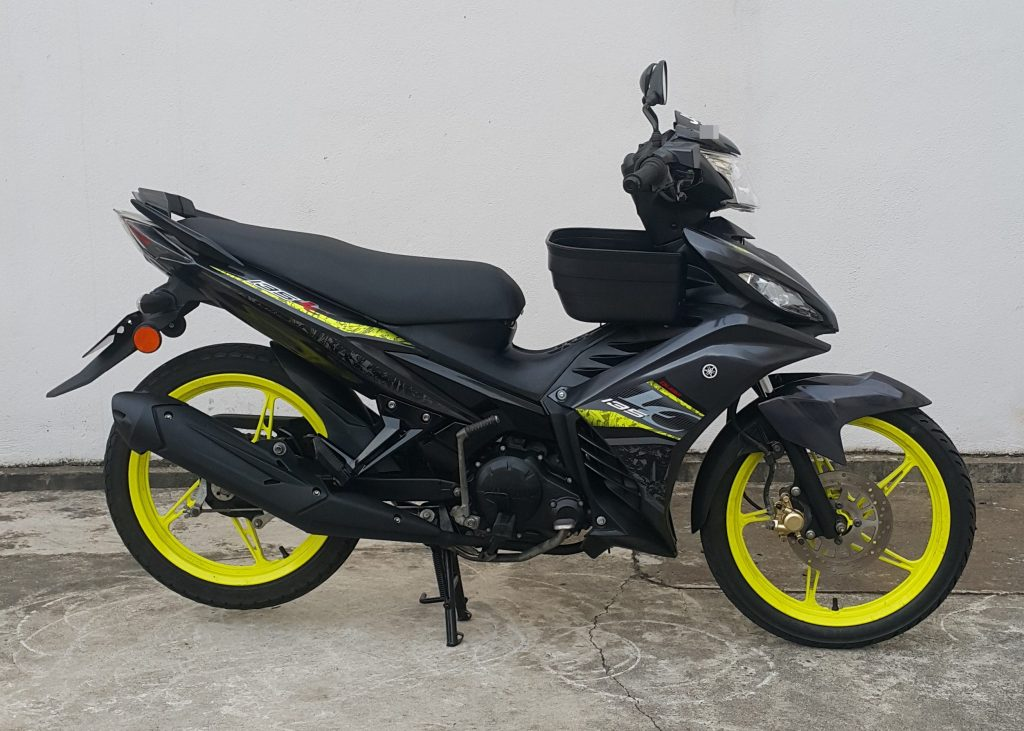 Yamaha LC 135 V5 – 2018 – On The Road