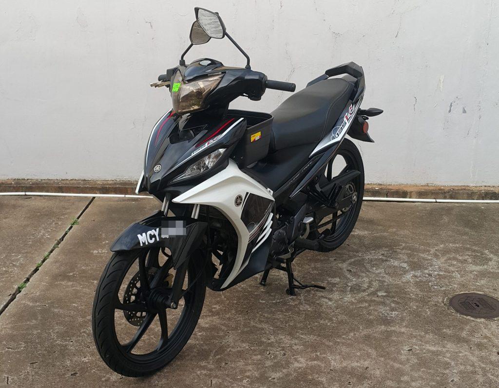 Yamaha LC 135 – 2017 – On The Road
