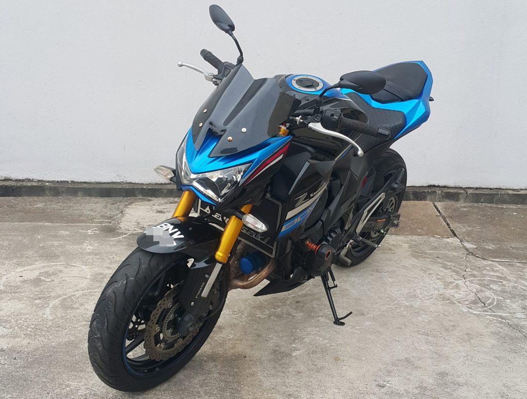 Kawasaki Z800 ( ABS ) – 2016 – OTR