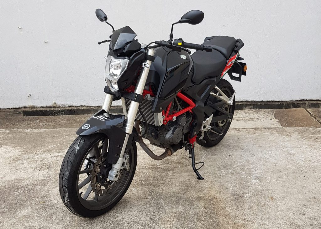 Benelli TNT 25 – 2019 – On The Road