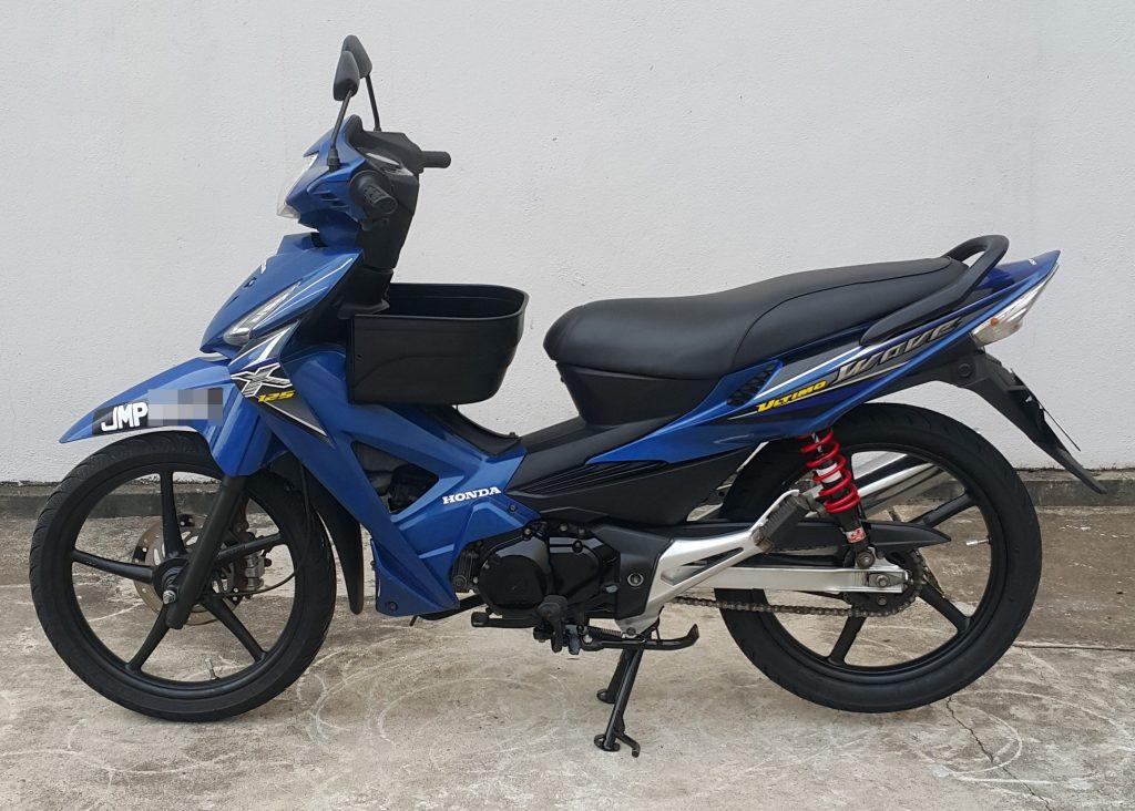 Honda Wave Ultimo 125 X – 2010 – OTR