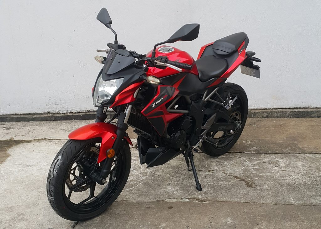 Kawasaki z250 SL – 2015 – OTR
