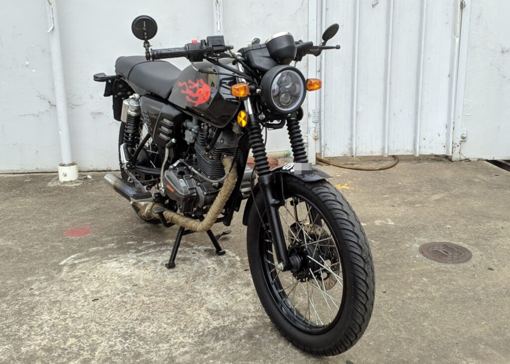 Keeway Cafe Racer 152 – 2019 – On The Road