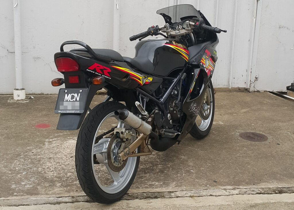 Kawasaki KR 150 RR – 2014 – OTR