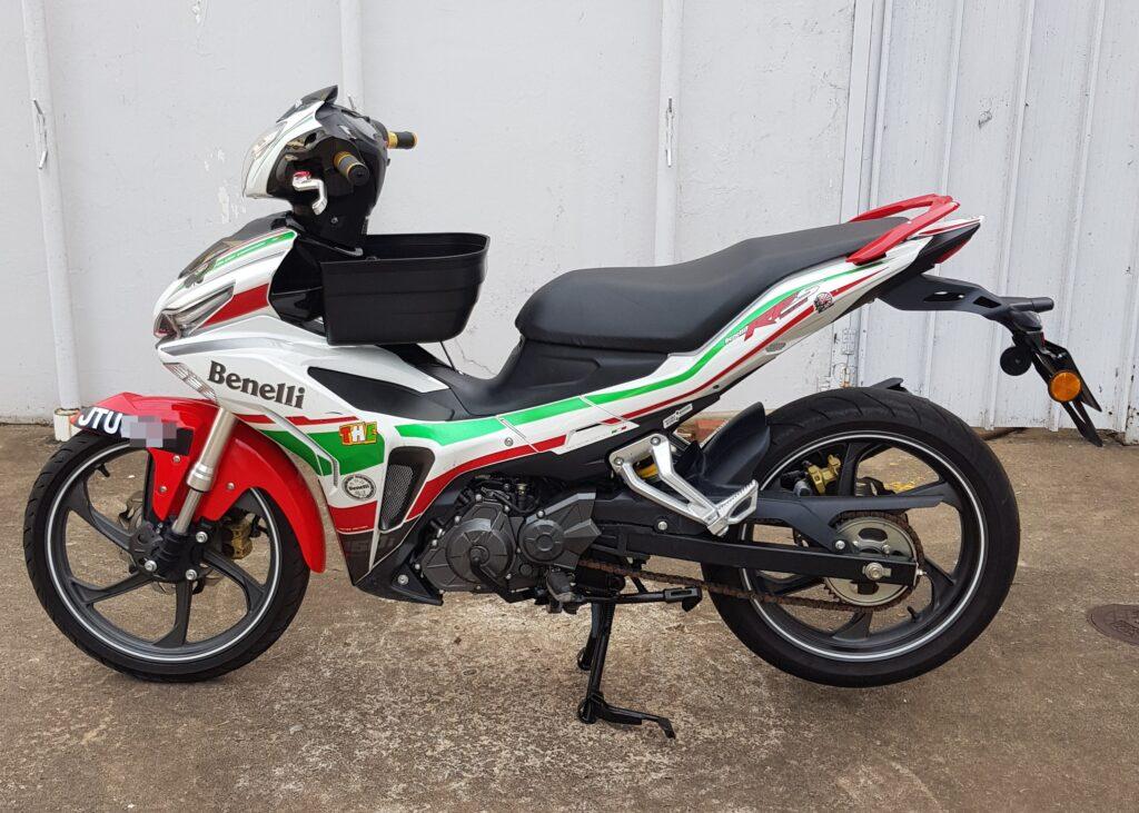 Benelli RFS 150 i ( Limited Edition ) – 2019 – OTR